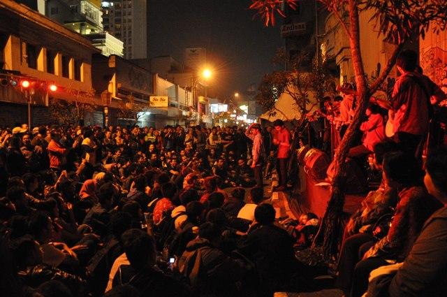 Penonton keroncong membludak dalam Festival Braga Internasional Bandung
